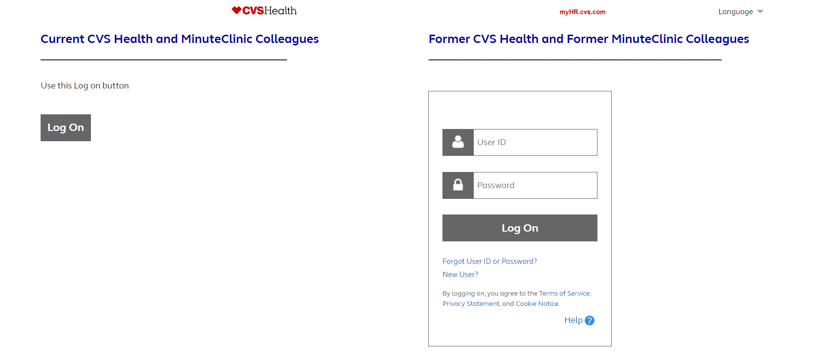 CVS Home Page